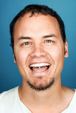 Silly funny man stock photos