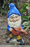 Silly garden gnome Stock Photos