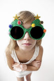 Silly girl Royalty Free Stock Images