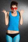 Silly Glasses Stock Photos