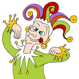 Silly Jester Stock Photography