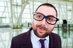 Silly man Stock Images