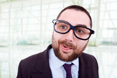 Silly man Royalty Free Stock Image