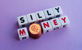 Silly money Stock Images