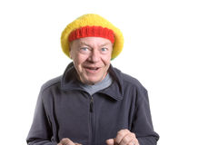 Silly old Man Royalty Free Stock Image
