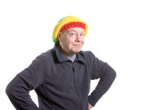 Silly old Man Stock Photography