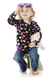 Silly Preschooler Stock Photography