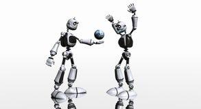 Silly robotS Stock Photos