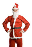 Silly santa Stock Images