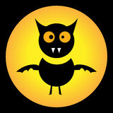 Silly scary bat for Halloween Royalty Free Stock Photo