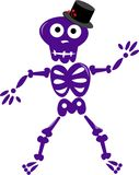 Silly Skeleton Stock Photography