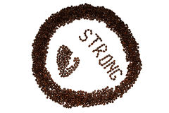 Silna kawa Obrazy Stock