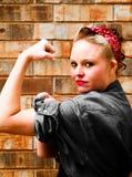 silna kobieta Fotografia Stock