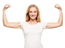 silna kobieta Zdjęcie Royalty Free
