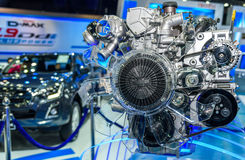 Silnik ISUZU D-MAX 1 9 Ddi Błękitna władza Zdjęcie Royalty Free