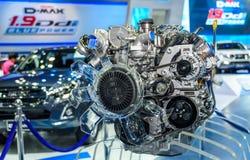 Silnik ISUZU D-MAX 1 9 Ddi Błękitna władza Obraz Royalty Free