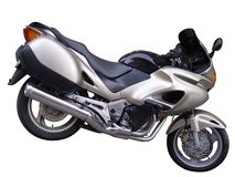 silnik motocykla Fotografia Royalty Free