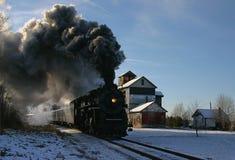 silnik pary pociąg Fotografia Stock