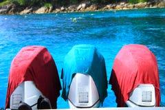 Silnik prędkości łódź obraz stock