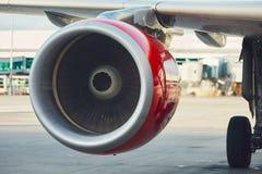 Silnik samolot zdjęcie royalty free