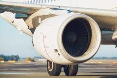 Silnik samolot obrazy stock