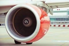 Silnik samolot zdjęcia stock