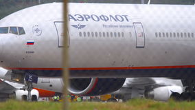 Silnik samolot zbiory wideo