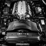 Silnik sporta samochodu Dodge żmija SRT-10, 2006 Obrazy Royalty Free