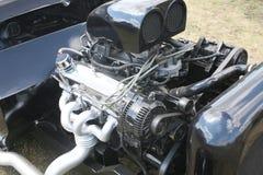 Silnik sporta samochodu zbliżenie Zdjęcia Royalty Free