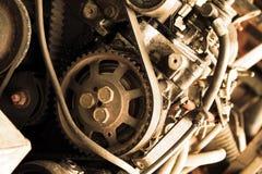 silnik stary obraz stock