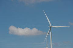 Silnik wiatrowy alternatywna energia odnawialna Tajlandia Obraz Stock