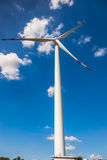 Silnik Wiatrowy dla alternatywnej energii Fotografia Royalty Free