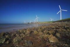Silnik wiatrowy serie Zdjęcia Royalty Free