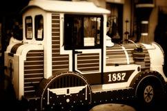 silnika pociąg wzorcowy stary Zdjęcie Stock