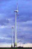 Silnika wiatrowego gospodarstwo rolne Zdjęcia Royalty Free