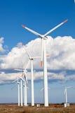 Silnika wiatrowego gospodarstwo rolne Obraz Royalty Free