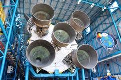 silniki podskakują Saturn v Zdjęcia Royalty Free