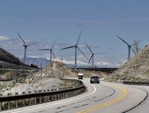 Silniki Wiatrowi w węgla okręgu administracyjnym, Utah fotografia royalty free