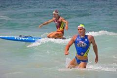 silny atlety ciało Fotografia Stock