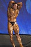 Silny Fachowy Męski Kaukaski Bodybuilder spełnianie na Sta Obraz Stock