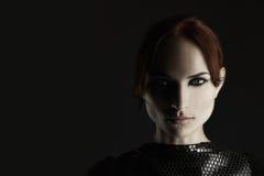 Silny kobieta portret Zdjęcie Royalty Free