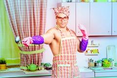 Silny kucharz Fotografia Stock
