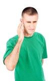 silny uszaty ból obraz stock