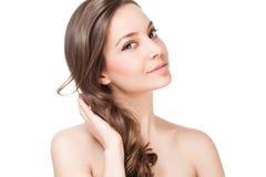 Silny zdrowy włosy zdjęcie stock