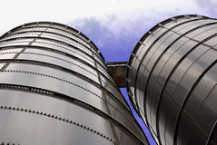 Silo. Grain Storage Compound Facility stock images