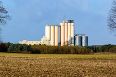 silo Foto de Stock Royalty Free
