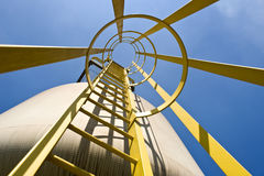 Silo Access Royalty Free Stock Images
