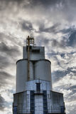 Silo buildings Stock Photos
