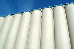 Silo of cereals Royalty Free Stock Photography
