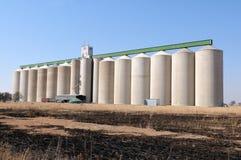 Silo de grain Photos stock